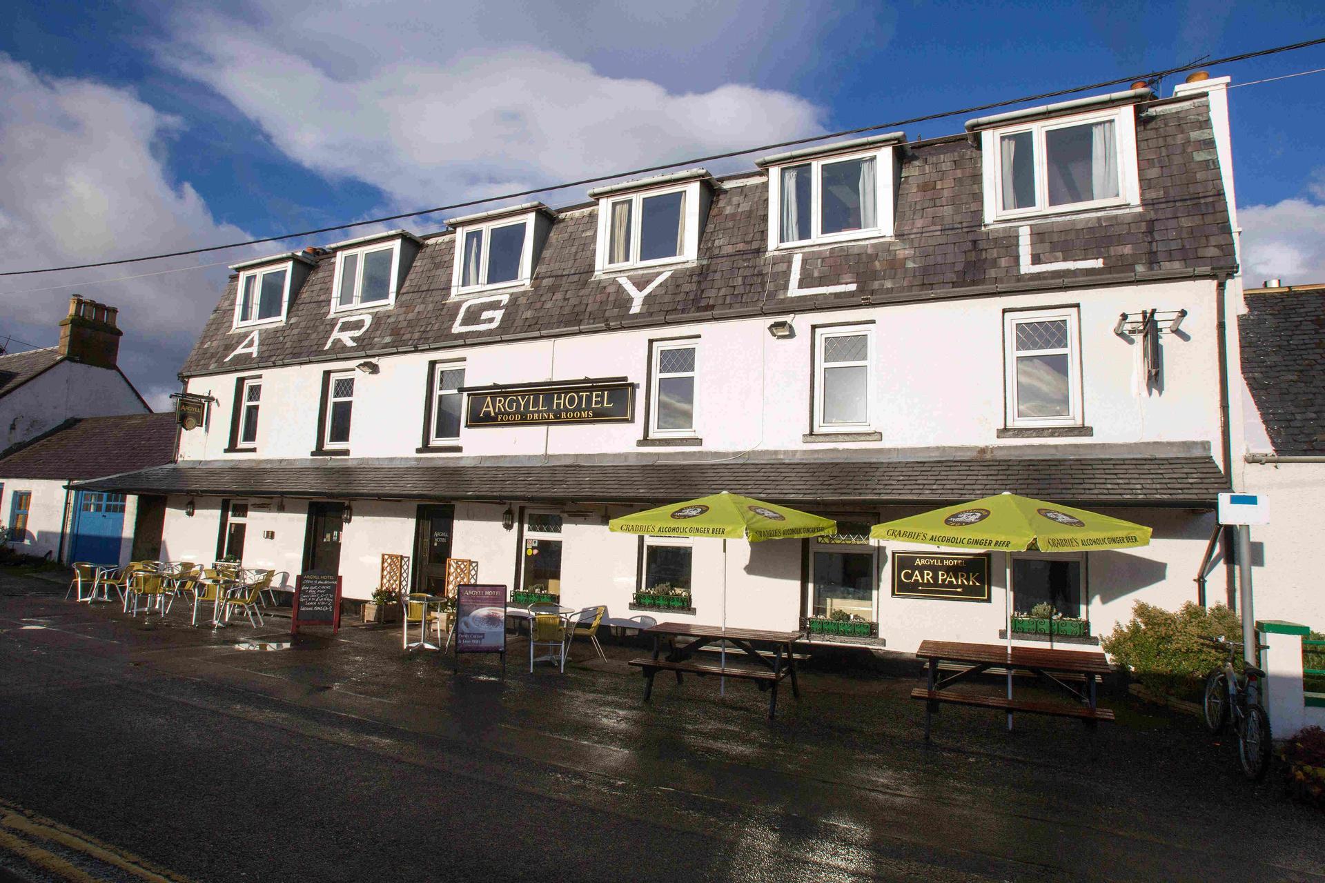 Argyll Hotel in Scotland