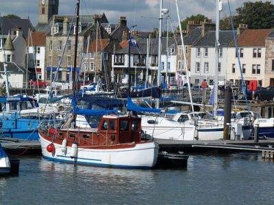 The Waterfront - Anstruther in Scotland