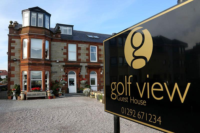 Golf View Guest House in Scotland