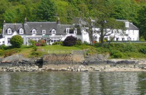 The Creggans Inn in Scotland