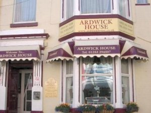 Ardwick House Hotel in Blackpool