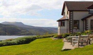Ardvreck House in Scotland