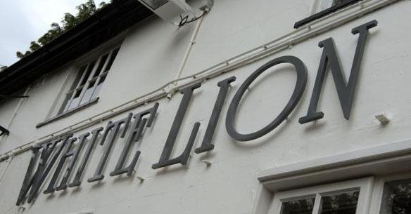 The White Lion Inn in 