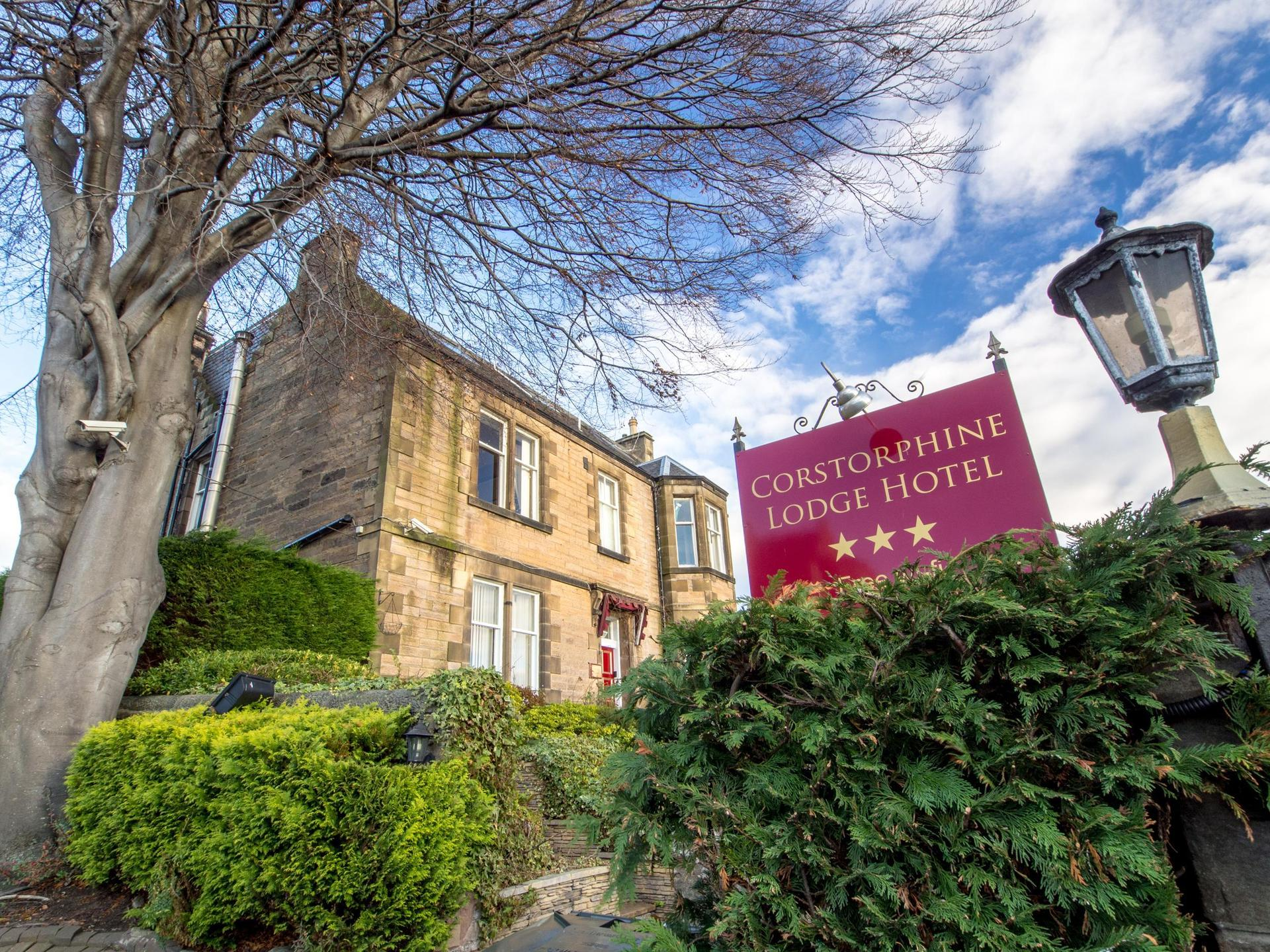 Corstorphine Lodge Hotel in Scotland
