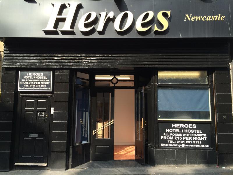 Heroes Hotel in Northumberland