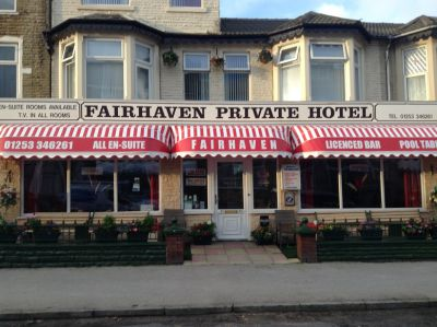 The Fairhaven Hotel in Blackpool