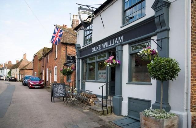 The Duke William Pub in Canterbury