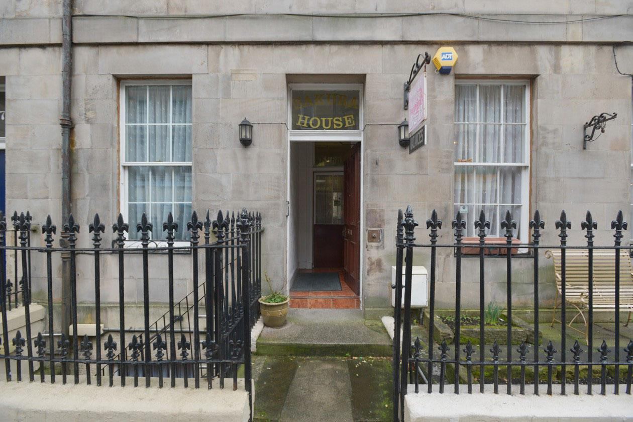 Sakura Edinburgh Guest House in Scotland