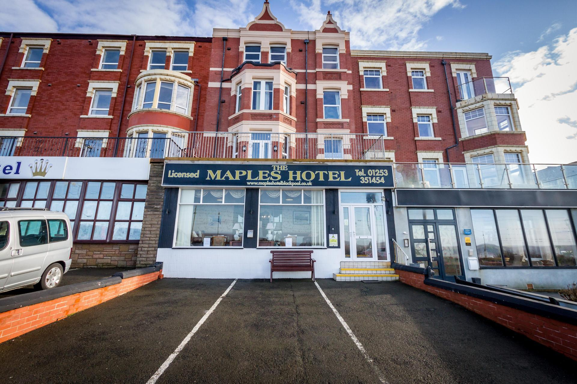 The Maples Hotel in Blackpool