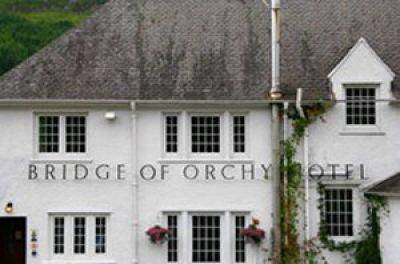 Bridge of Orchy Hotel in Scotland