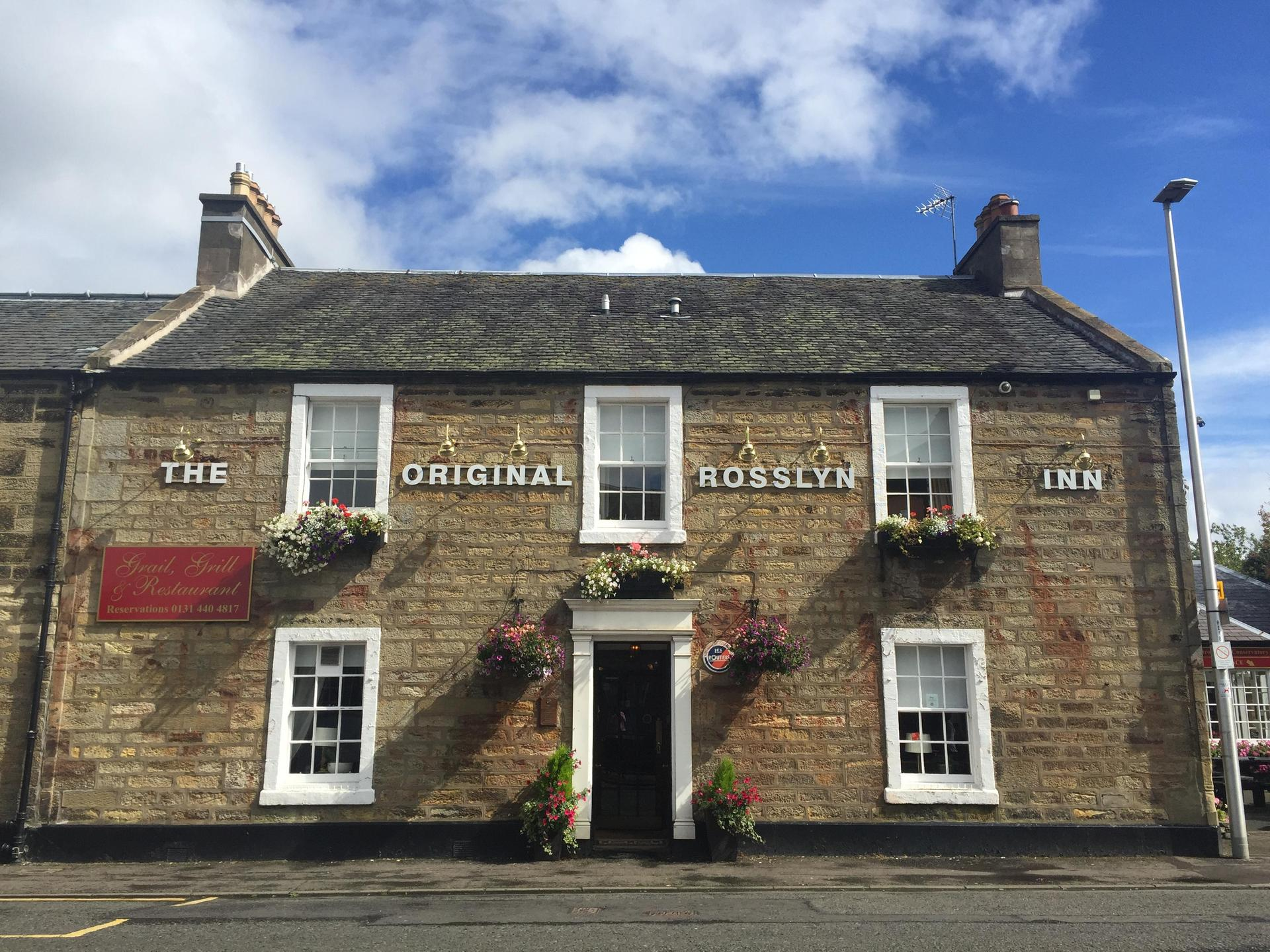 The Original Rosslyn Inn in Edinburgh
